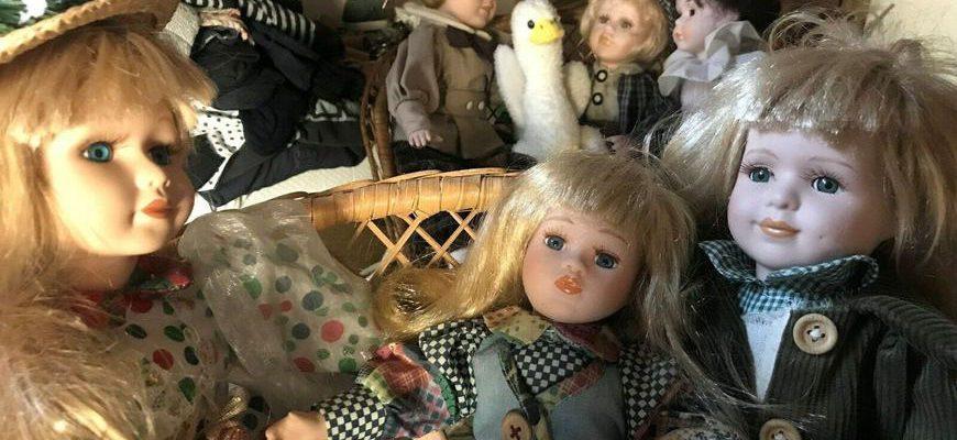 фарфоровые и керамические куклы