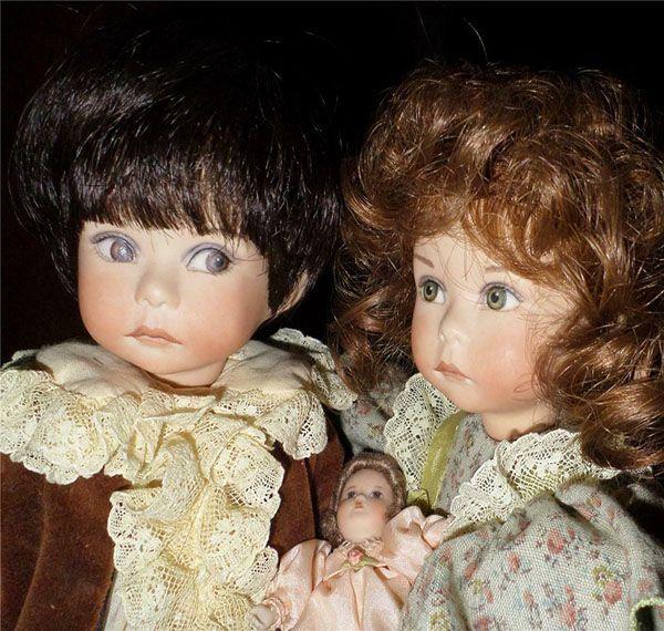 Немецкие фарфоровые куклы